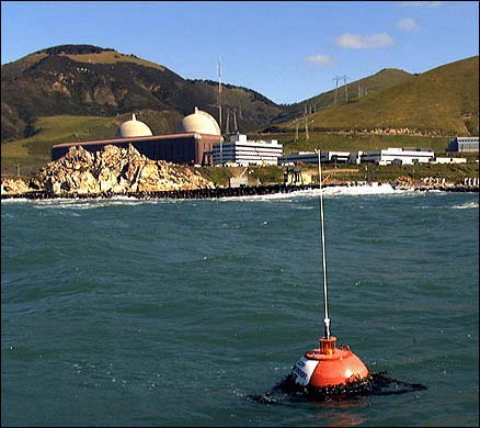 Diablo Nuclear Power Plant wave buoy
