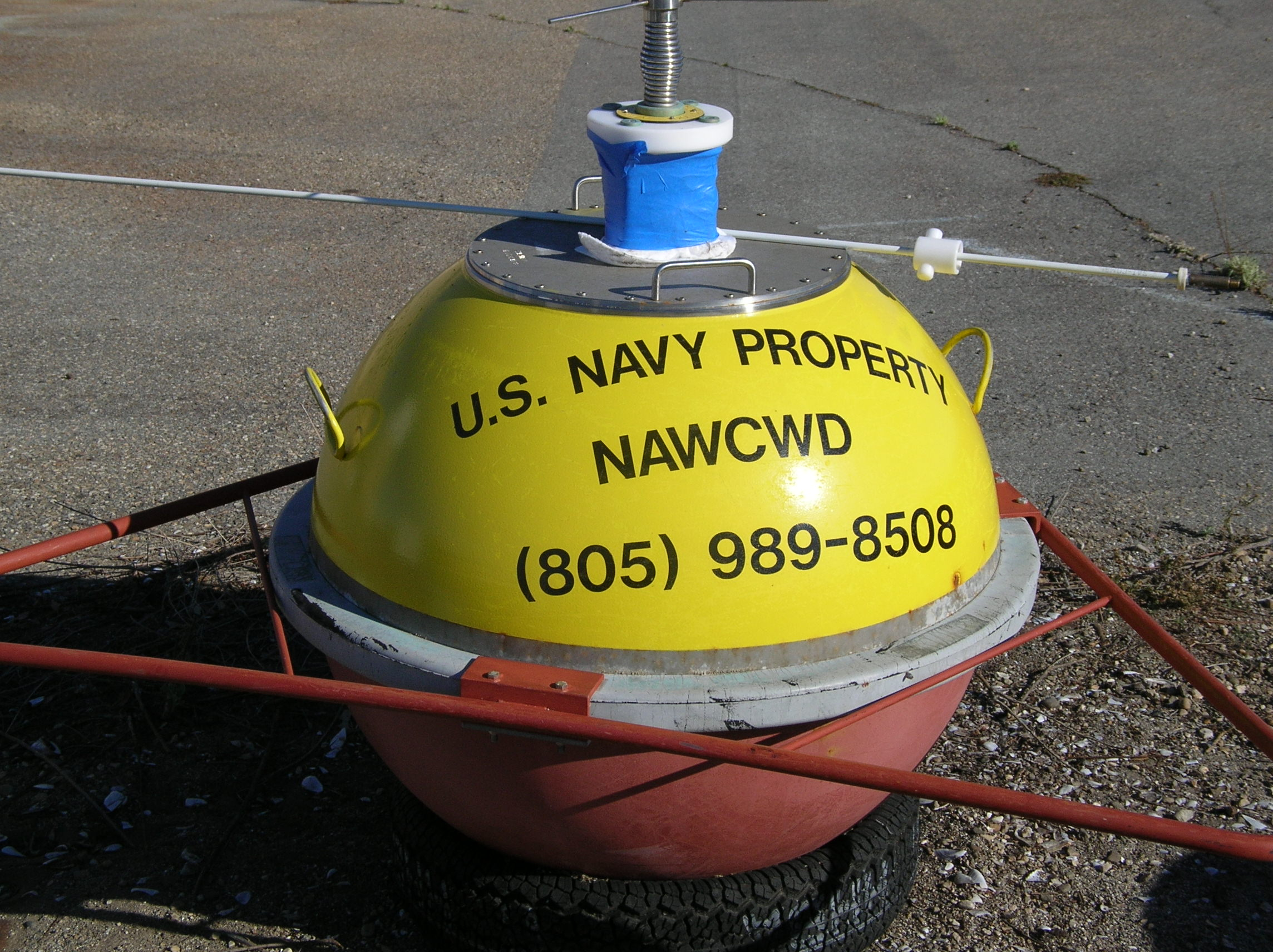 Recovered SNI buoy