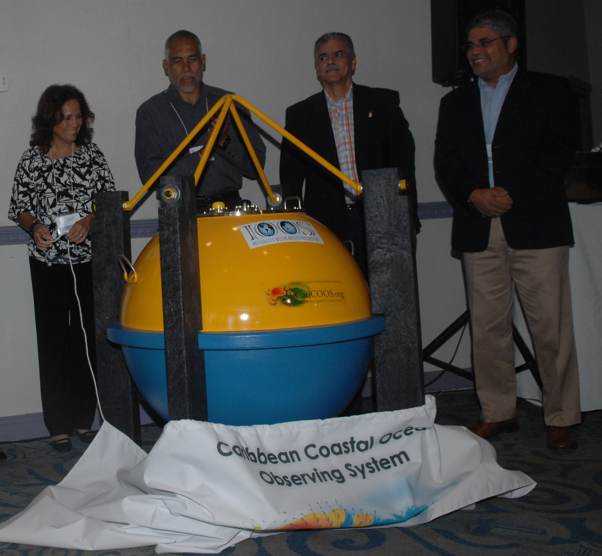 Unveiling of Puerto Rico Buoy