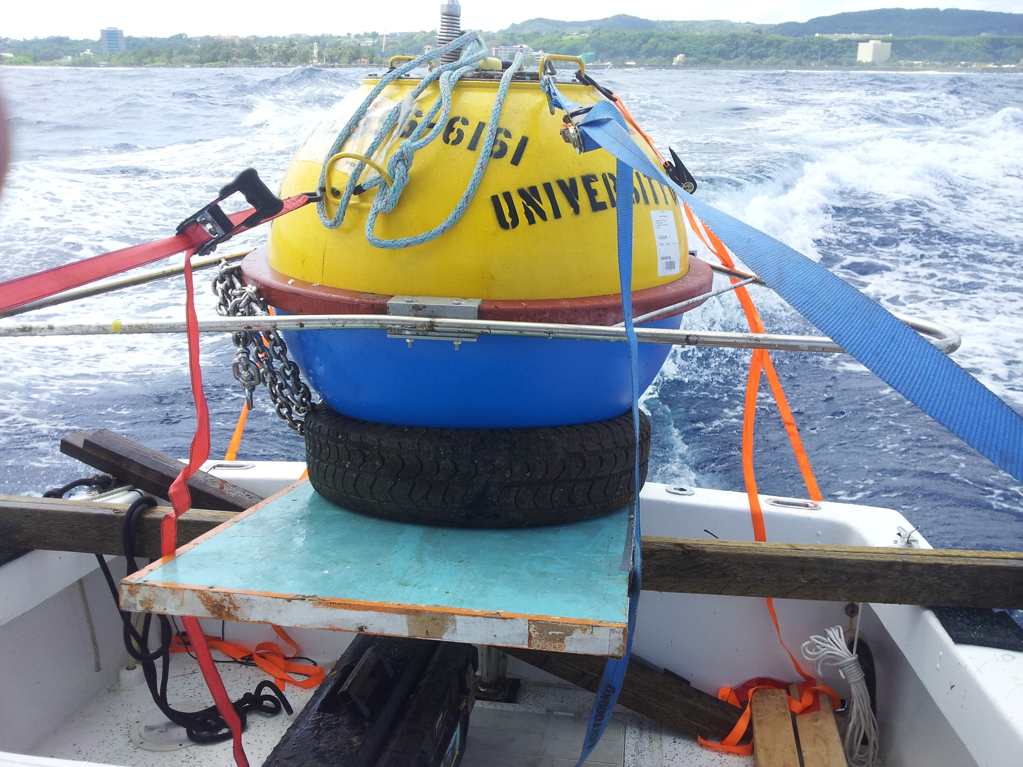 New buoy to be swapped with old