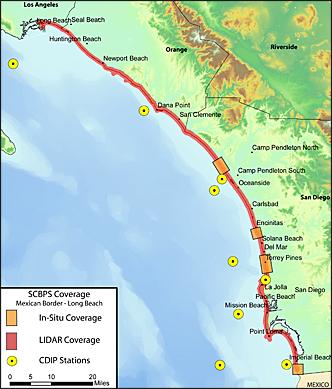 Southern California Beach Process Study docs on