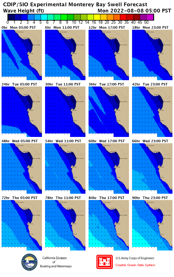 EXPERIMENTAL Four-Day Swell Model