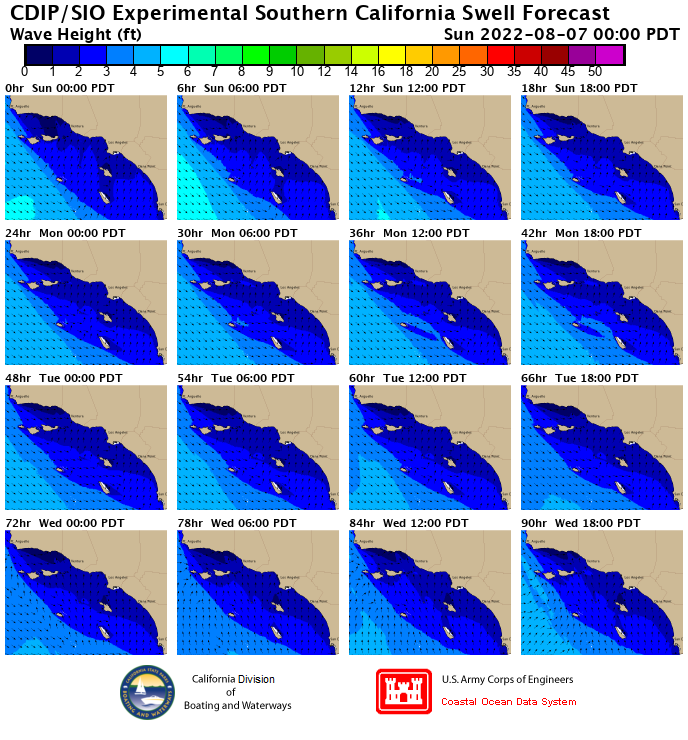 southern california surf forecast