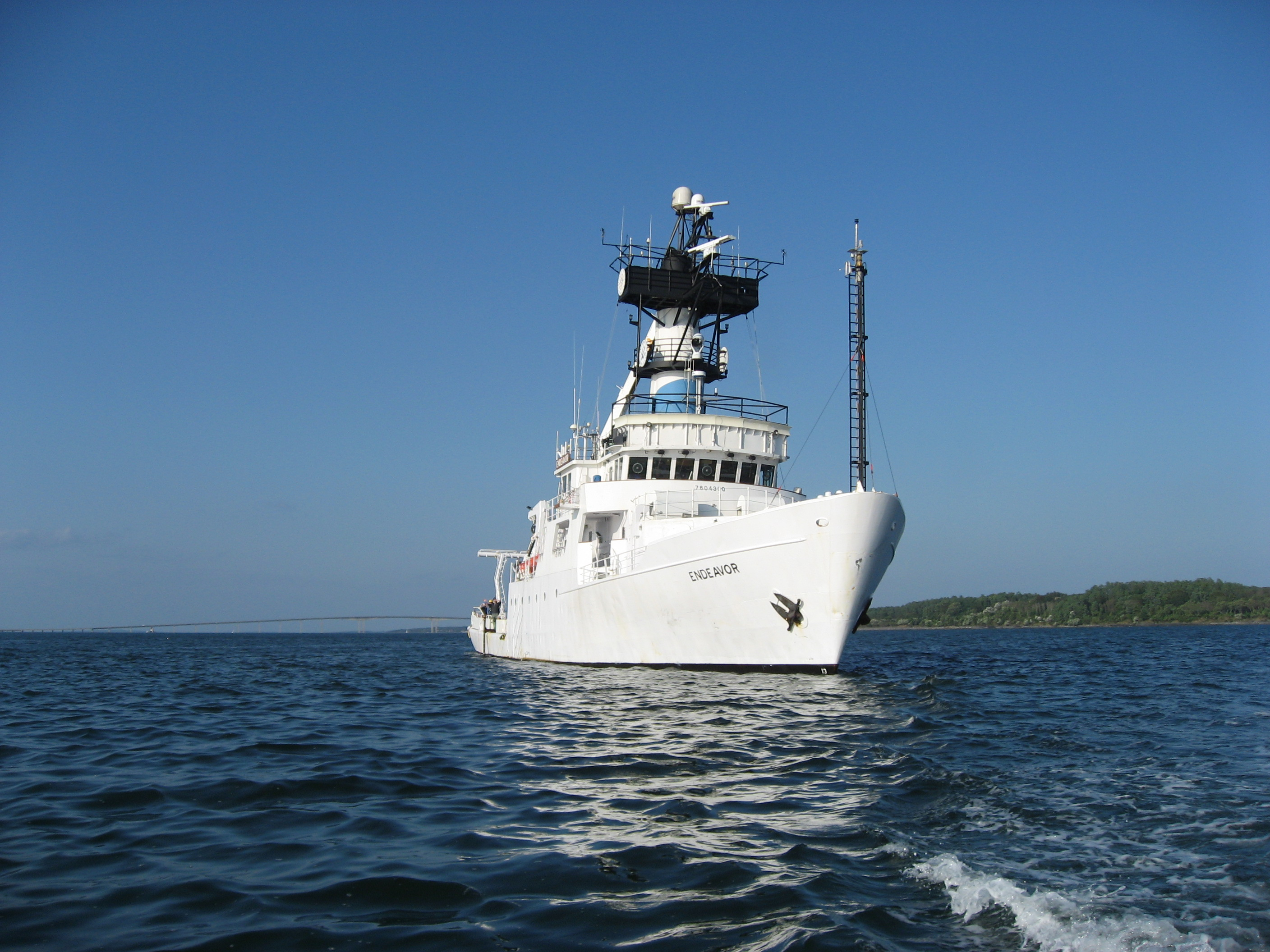 Block Island deployment vessel