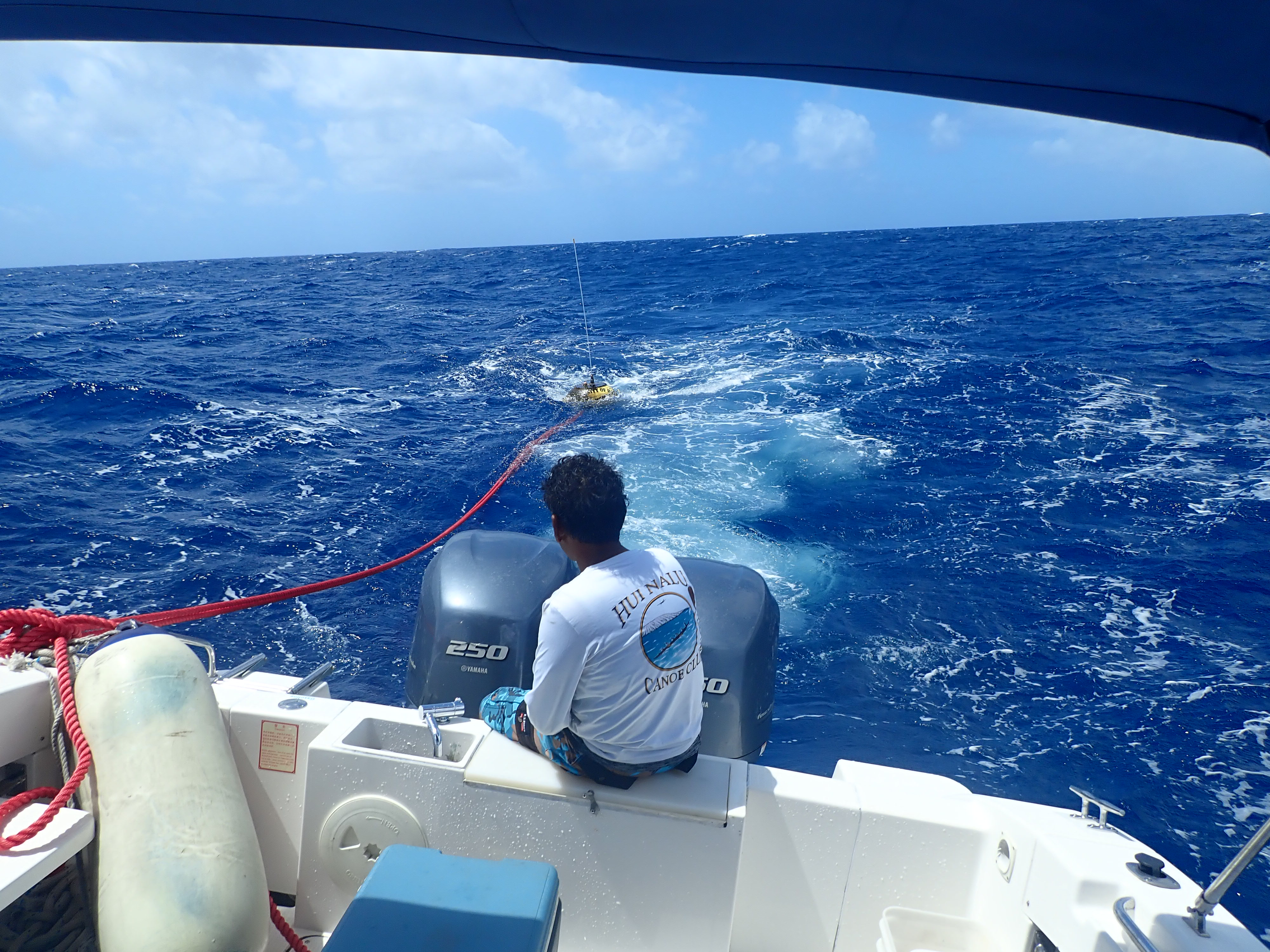 Recovering the drifting buoy